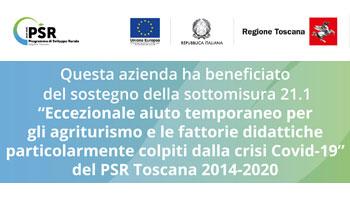 Aiuto straordinario Regione Toscana